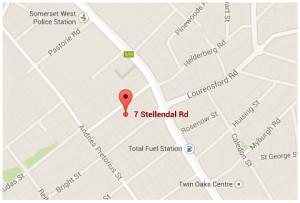Et Al Therapy and Learning Centre | Et Al Terapie en Leersentrum Somerset West | Western Cape Map